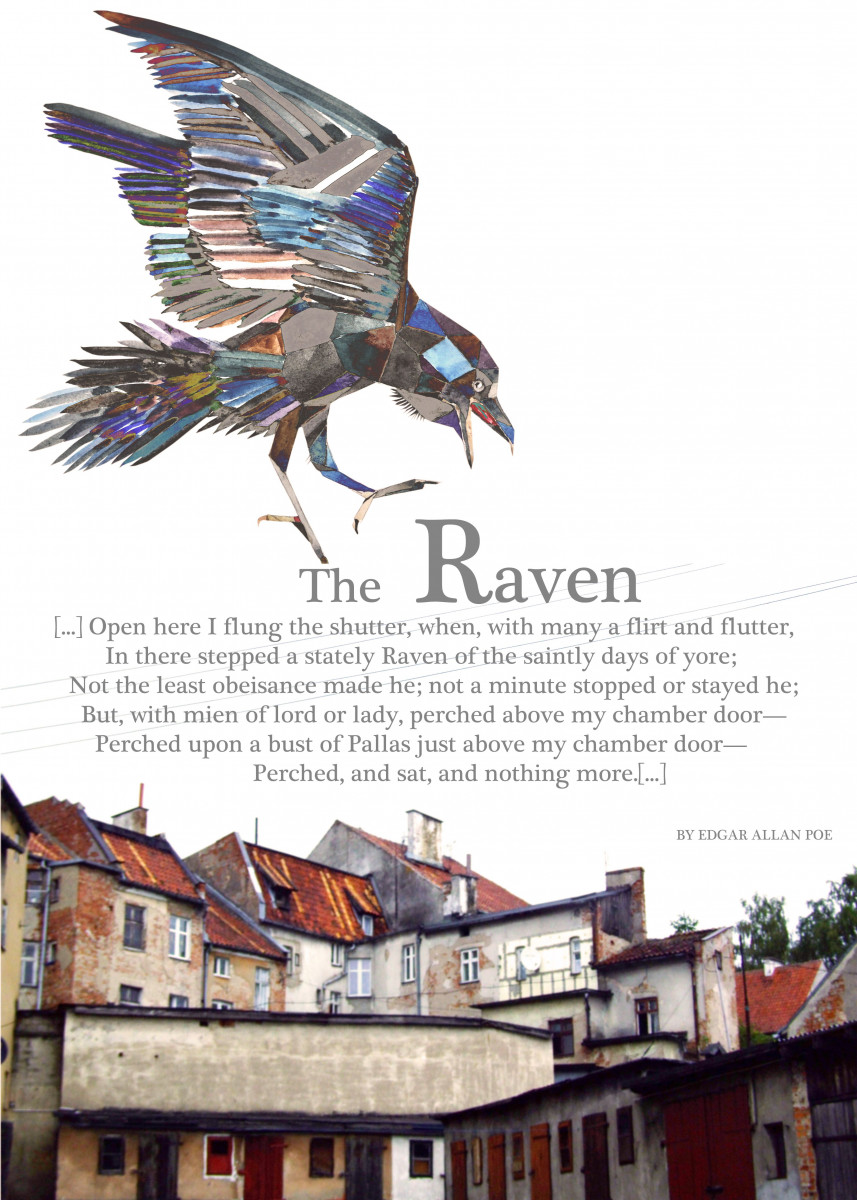 The Raven- Inspired by Edgar s Allan Poe poem.