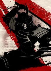 black white and japan warrior fighter samurai katana
