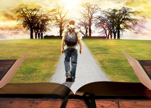 path through bible concept art by michael taylor