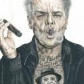Jack Nicholson inked