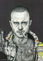 breakingbad jesse pinkman tv tattoo art