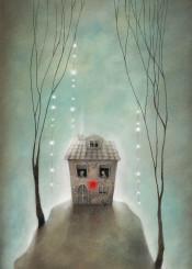 love home lights fireflies