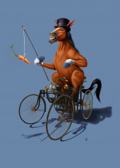 pencil photoshop animal nature sketch horse power vehicle car automobile carrot stick equestrian