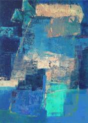 art digital colors blue dog wolf wild spirit moon