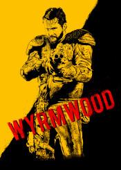 barry wyrmwood australian zombie film artwork vector illustration roma artwork
