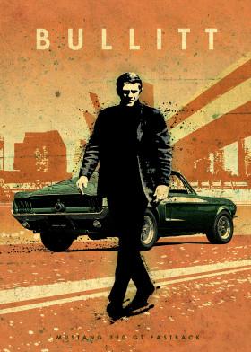 Car Legends By Eden Design Metal Posters Displate