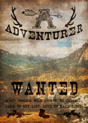 dverissimo mountain adventure forest trees west wild wilderness fall autumn adventurer wanted