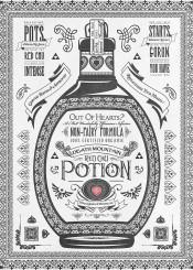 legendofzelda zelda video game nintendo black white triforce potion advertisement hyrule