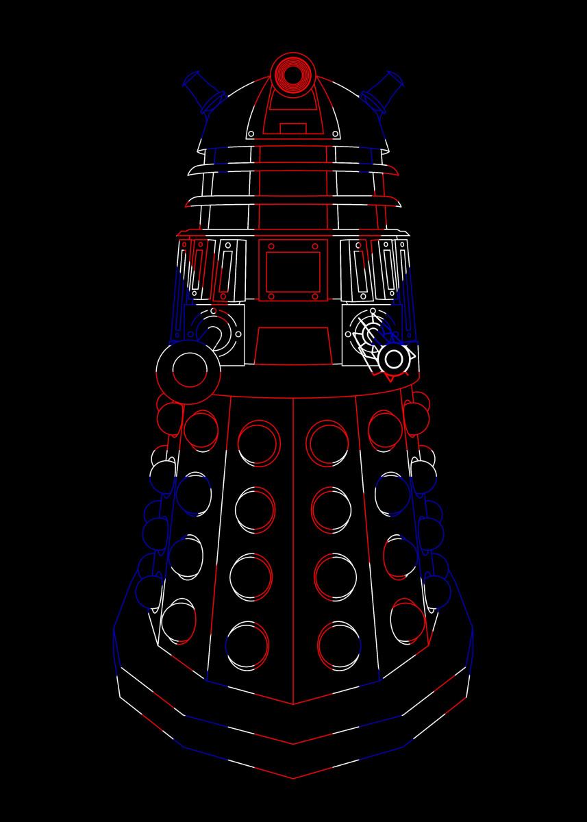 British Flag Dalek 66765