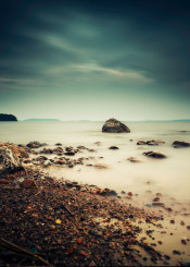 background beach beautiful beauty black blue care cloud coast coastline cold color dark dawn dusk ev