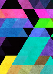geometric abstract geometry bright black triangle