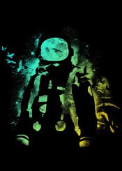 astronaut cosmonaut bird universe stars galaxy universe tobe fonseca tobias fonseca art design