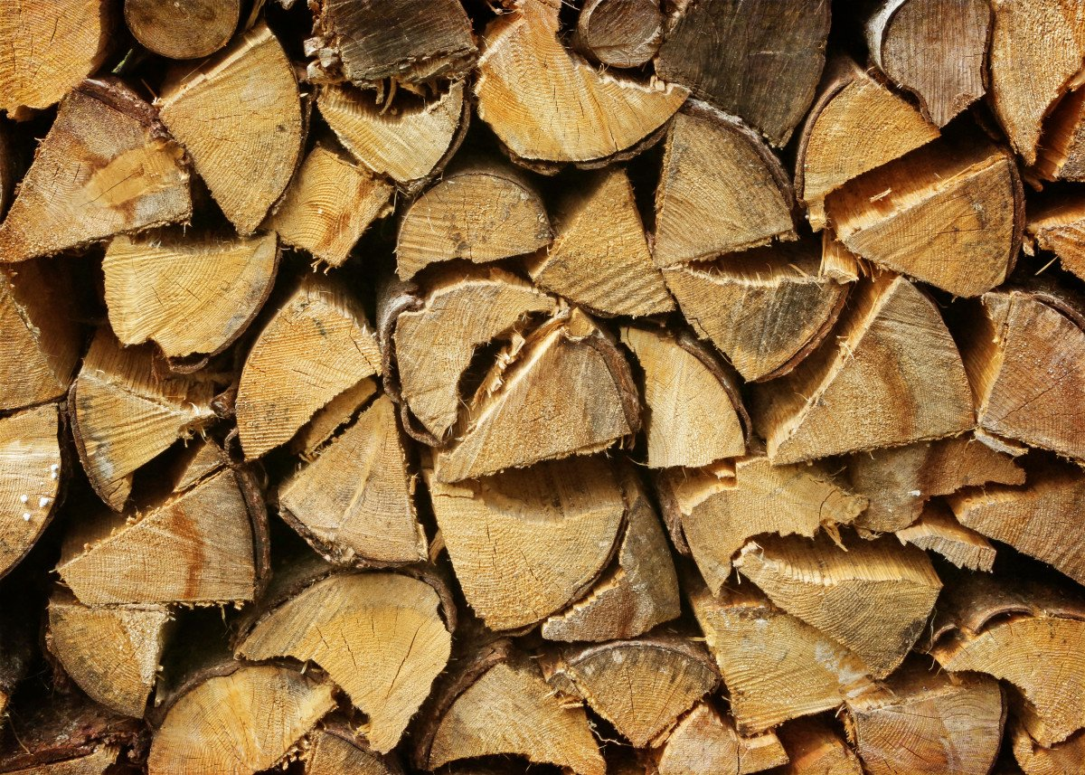 Austrian Wood Pile