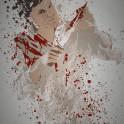 """Butcher"" Splatter effect artwork inspired by Dexter"