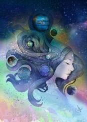 nebula stars sky