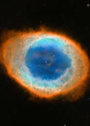 ring nebula space nasa stars sky universe cosmos