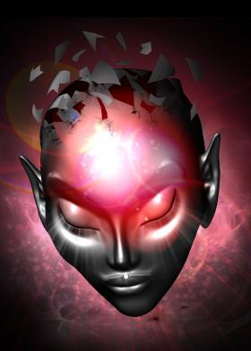 alien 3d digitalart cosmic misterious openminded creature zen meditation fantasy surreal scifi