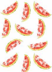 watermeleon fruit fresh color pattern