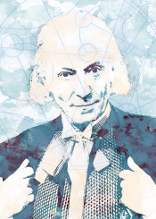 bbc doctor who gallifrey watercolor classic first doctor 1st