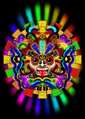 aztec warrior mask quetzalcolatl rainbowcolors culture ancient mexico ritual tenochtitlan ceremony