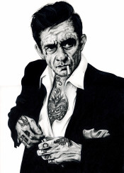 tattoo johnnycash johnny cash inked ikons music legend
