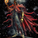 Vincent Valentine epic fire materia inspired by Final Fantasy VII game character
