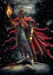 vincent valentine final fantasy fire playstation ffvii ff7 7 cerebus avalanche materia game psone