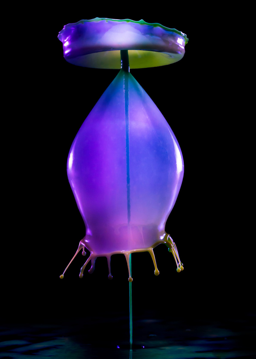 Violet Baloons