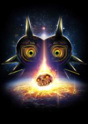 majorasmask majora mask termina moon evil game nintendo legendofzelda zelda dark gaming epic light