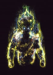 dragonball z dragon anime manga goku super saiyan tv japan vegeta light energy power epic fighter ki