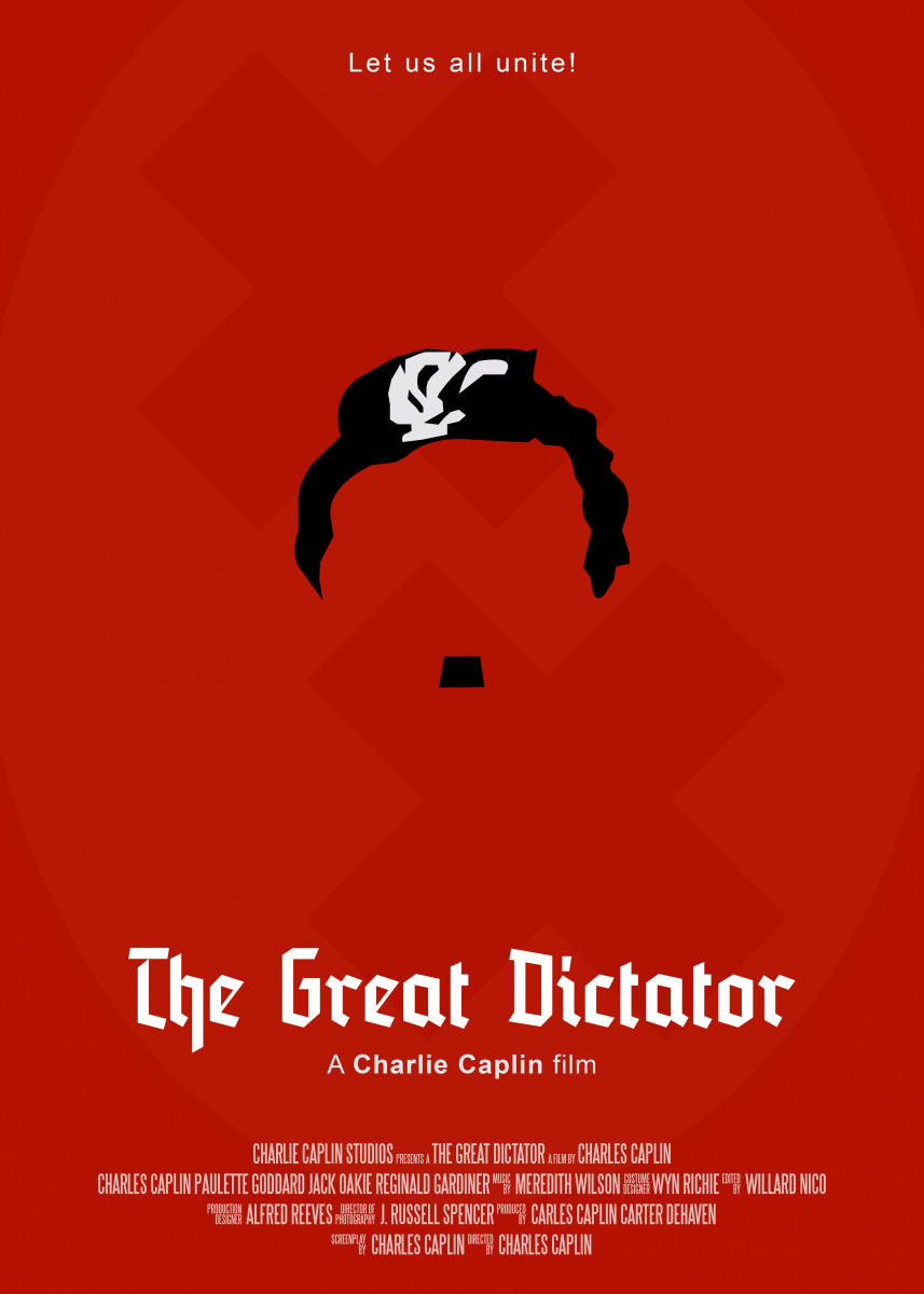 The Great Dictator Minimal Movie Poster