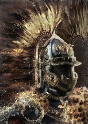 hussar winged cavalry poland xvi husaria wings armor history golden brown backlight man soldier army