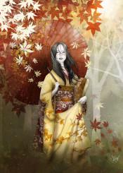 autumn geisha