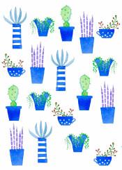 succulents succulent cactus cacti plant plants houseplants nature watercolor watercolour painting