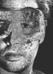 art digital photo man black white