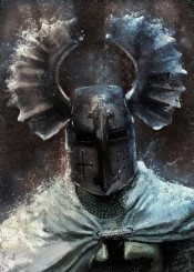 teutonic knight order black cross military crusading 12th theutonicorum european history horns man