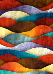 dverissimo bee eater pattern abstract color colorful waves