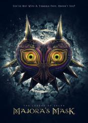 legendofzelda majorasmask majora mask link gaming eyes nintendo film movie epic dark dramatic zelda