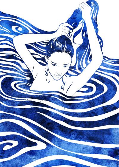 Stevyn Llewellyn Femmes   Displate Prints on Steel