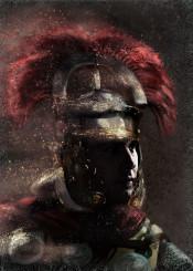 roman centurion history strategy helmet crest official infantry red rim man empire historical men