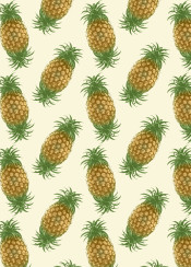 pattern pineapple fruit fresh color