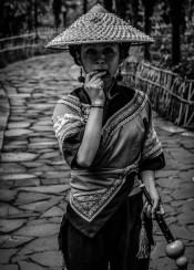 asia asian china portrait black white photography minority monochrome rural chinese life beauty art