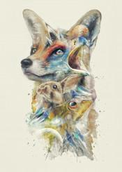 starfox fox toad mccloud rabbit vintage painting nintendo geeky falco space exposure arwing lylat