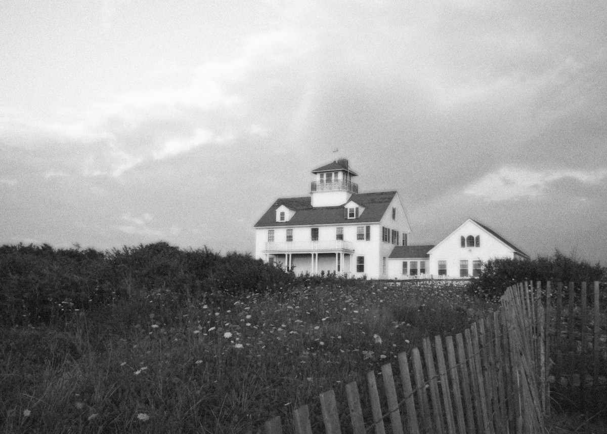 Eastham Massachusetts Cape Cod Architecture in Black and White