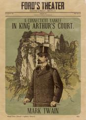 twain classic litature novel satire yankie knight court camalot illustration victorian vintage