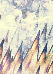 mountains pattern textured abstract sky design texture art creativity grunge background grunge