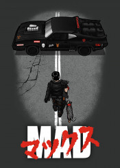 akira mad max fury road warrior cars furiosa dog anime immortan joe 80s film movies post apocalyptic