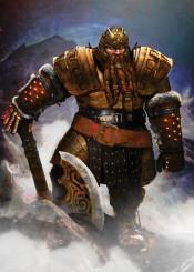 dwarf warrior dwarven axe armor slayer