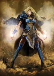 human sorceress magic female