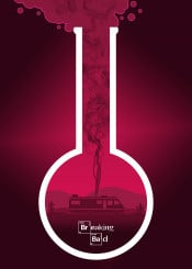 illustration poster movie film minimal tv smoke breaking bad walter